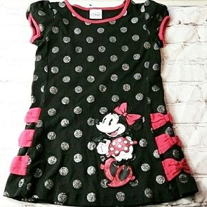 Disney Black and Red Minnie Mouse Toddler Dress